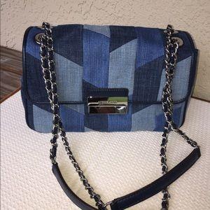 Michael Kors Sloan Patchwork Chain Shoulder Bag